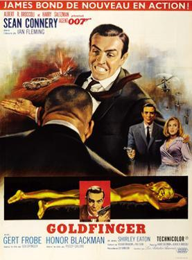 Goldfinger, Top from Left: Harold Sakata (Back to Camera), 1964