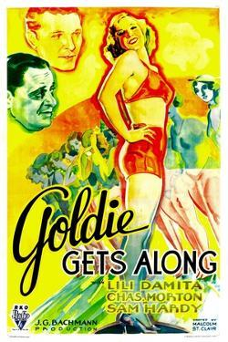 GOLDIE GETS ALONG, right: Lili Damita, 1933.
