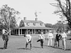 Golf at Manhansett I.E. Manhanset House, Shelter Island, N.Y.