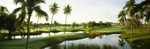 Golf Course at Isla Navadad Resort in Manzanillo, Colima, Mexico