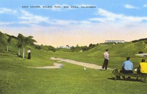 Golf Course, Balboa Park, San Diego, California