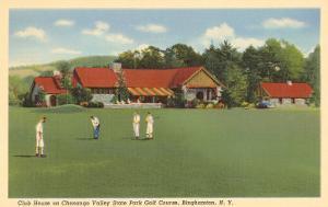 Golf Course, Chenango, Binghamton, New York