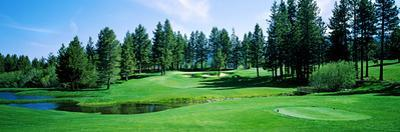 Golf Course, Edgewood Tahoe Golf Course, Stateline, Douglas County, Nevada, USA