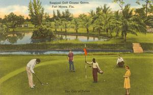 Golf Course, Ft. Myers, Florida