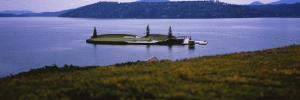 Golf Course in a Lake, Floating Golf Green, Coeur D'Alene Resort, Coeur D'Alene
