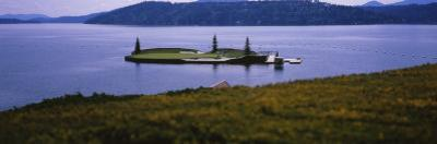 Golf Course in a Lake, Floating Golf Green, Coeur D'Alene Resort, Coeur D'Alene