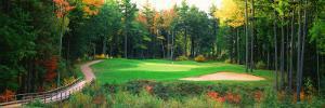 Golf Course New England, USA