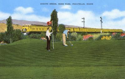 Golf Course, Pocatello, Idaho