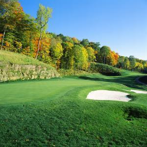 Golf Course, Raven Golf Club, Snowshoe, Pocahontas County, West Virginia, USA