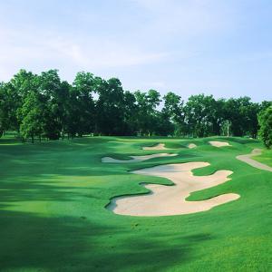 Golf Course, Shadow Hawk Golf Club, Richmond, Fort Bend County, Texas, USA