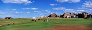 Golf Course, St. Andrews, Scotland, United Kingdom