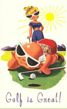 Golf is Great, Cartoon
