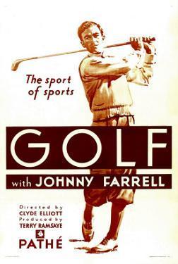 Golf, Johnny Farrell, 1930