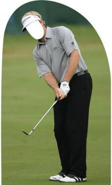Golf Man Lifesize Stand-In