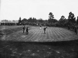 Golf Match Between Vardon and Braid, Ca. 1910