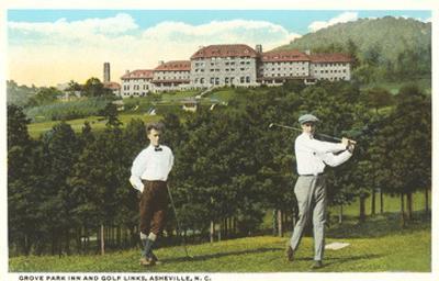 Golf near Grove Park Inn, Asheville, North Carolina