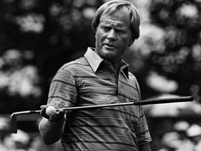 Golf Pro Jack Nicklaus, August, 1984