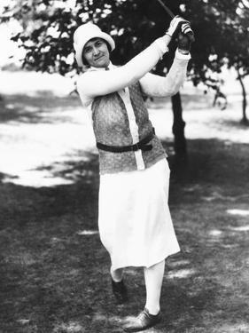 Golfer Opal Hill Won the Trans-Mississippi Women's Golf Championship 3 Times
