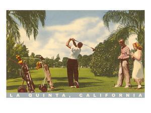 Golfing at La Quinta, California