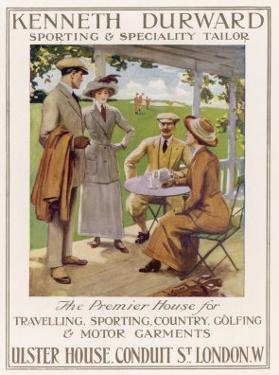 Golfing Clothes 1912