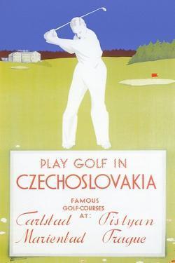 Golfing in Czechoslovakia
