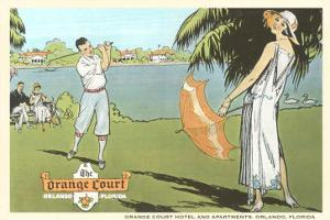 Golfing in Orlando, Florida