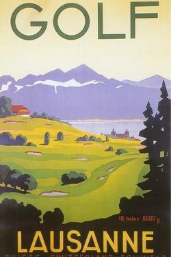 Golfing in Switzerland