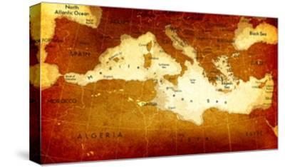 Old Mediterranean Map by goliath