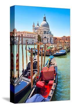 Gondolas Canale Grande Venice