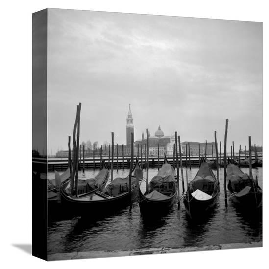 Gondolas-Tom Artin-Stretched Canvas Print