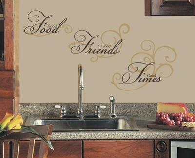 Good Food Peel & Stick Wall Decal