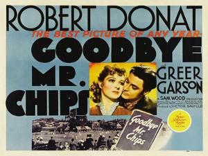 Goodbye Mr. Chips, UK Movie Poster, 1939