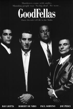 Goodfellas Movie Murderers Come with Smiles Poster Print