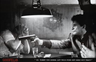 Goodfellas Movie (Pointing Guns) Poster Print