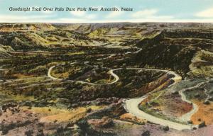 Goodnight Trail, Palo Duro Park, Amarillo, Texas