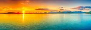 Sunrise Over The Sea. Panorama by GoodOlga