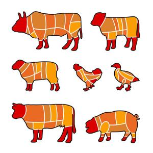 Cutting Meat by Goran Benisek