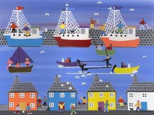 A Show at the Marina by Gordon Barker