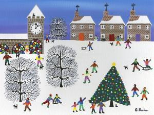 Christmas in Winter Town by Gordon Barker
