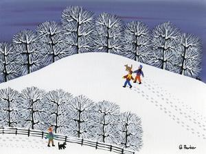 Snow Treck by Gordon Barker