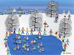 Synchronized Snowmen by Gordon Barker