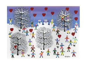 Valentines on Pine Hill by Gordon Barker