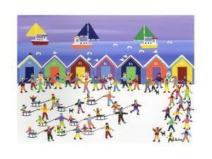 Winter Beach Parade by Gordon Barker
