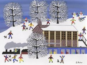 Winter Station by Gordon Barker
