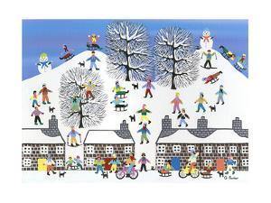 Winter Town by Gordon Barker