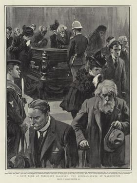 A Last Look at President Mckinley, the Lying-In-State at Washington by Gordon Frederick Browne