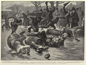 A Novel Entertainment an Obstacle Race on the Ice at Hamburg by Gordon Frederick Browne