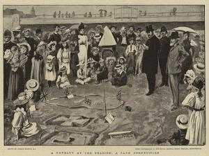 A Novelty at the Seaside, a Sand Competition by Gordon Frederick Browne