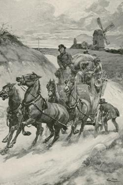 A Stage-Coach in the Olden Times by Gordon Frederick Browne