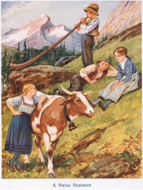 A Swiss Summer by Gordon Frederick Browne